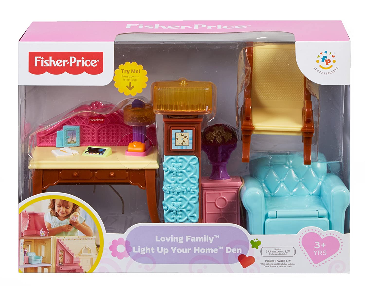 Fisher-Price Loving Family Light-Up Your Home
