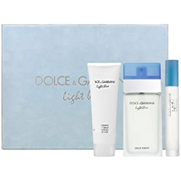 Image Unavailable. Image not available for. Color  Dolce   Gabbana Light  Blue Gift Set 4b25ad59608