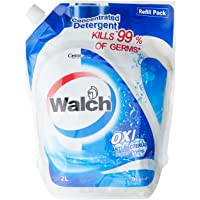 Walch Antibacterial Concentrated Laundry Detergent Refill, Original, 2 liters