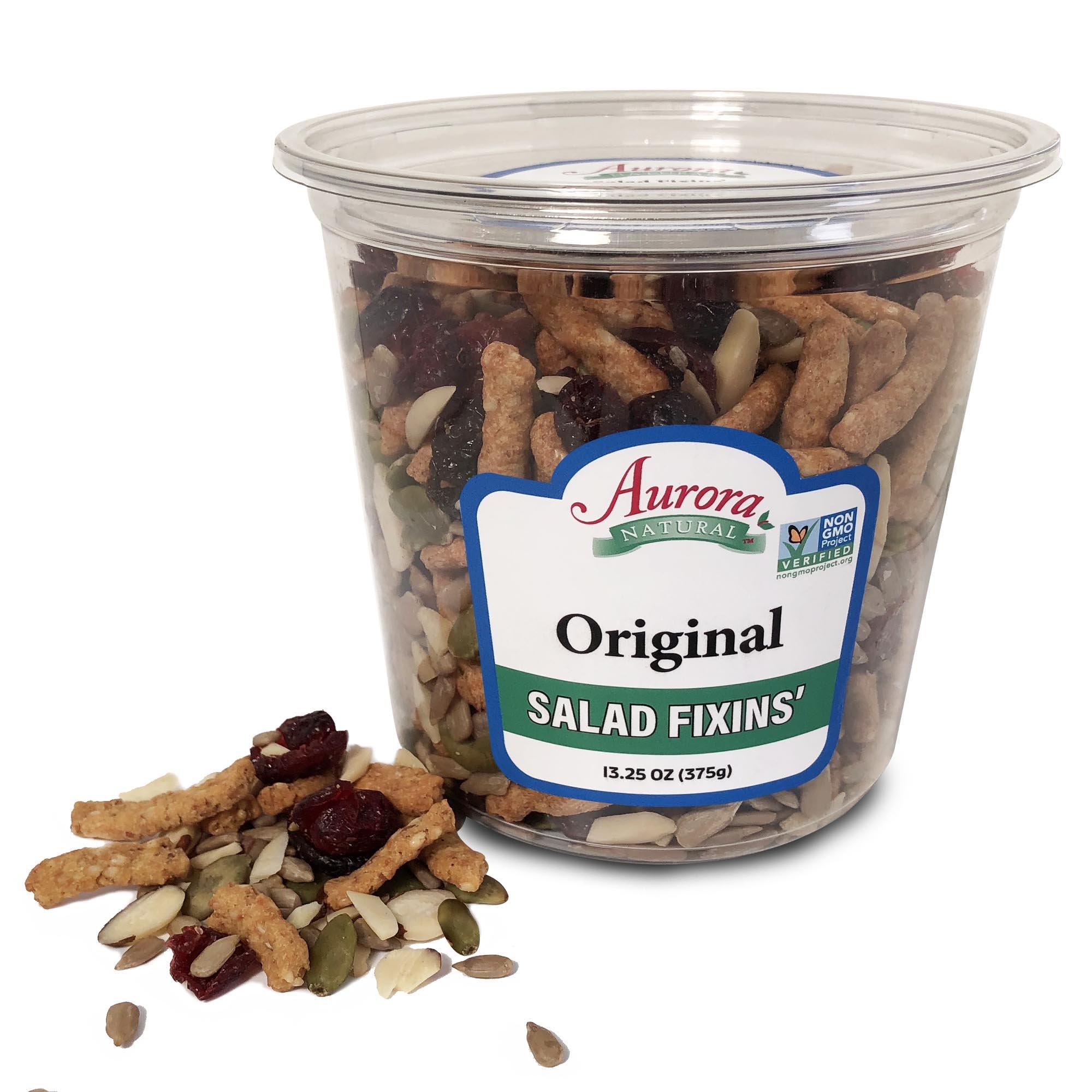 Aurora Natural Products Original Salad Fixins, 13.25 Ounce