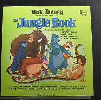Walt Disney Walt Disney The Jungle Book Lp Vinyl Record