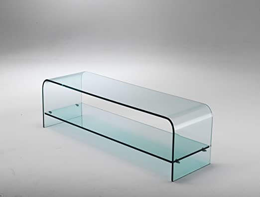 2 opinioni per Mod. Plana- porta tv in vetro curvato