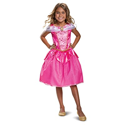 Disney Princess Aurora Classic Girls' Costume, Pink: Toys & Games