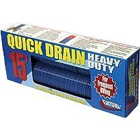 Valterra D04-0057 Heavy-Duty Quick Drain Hose - 15' - Blue