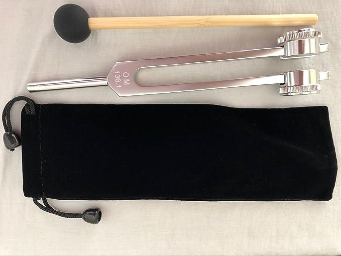 Om 136.1 Hz tuning tenedores --- Perfecto curación instrumento musical: Amazon.es: Instrumentos musicales