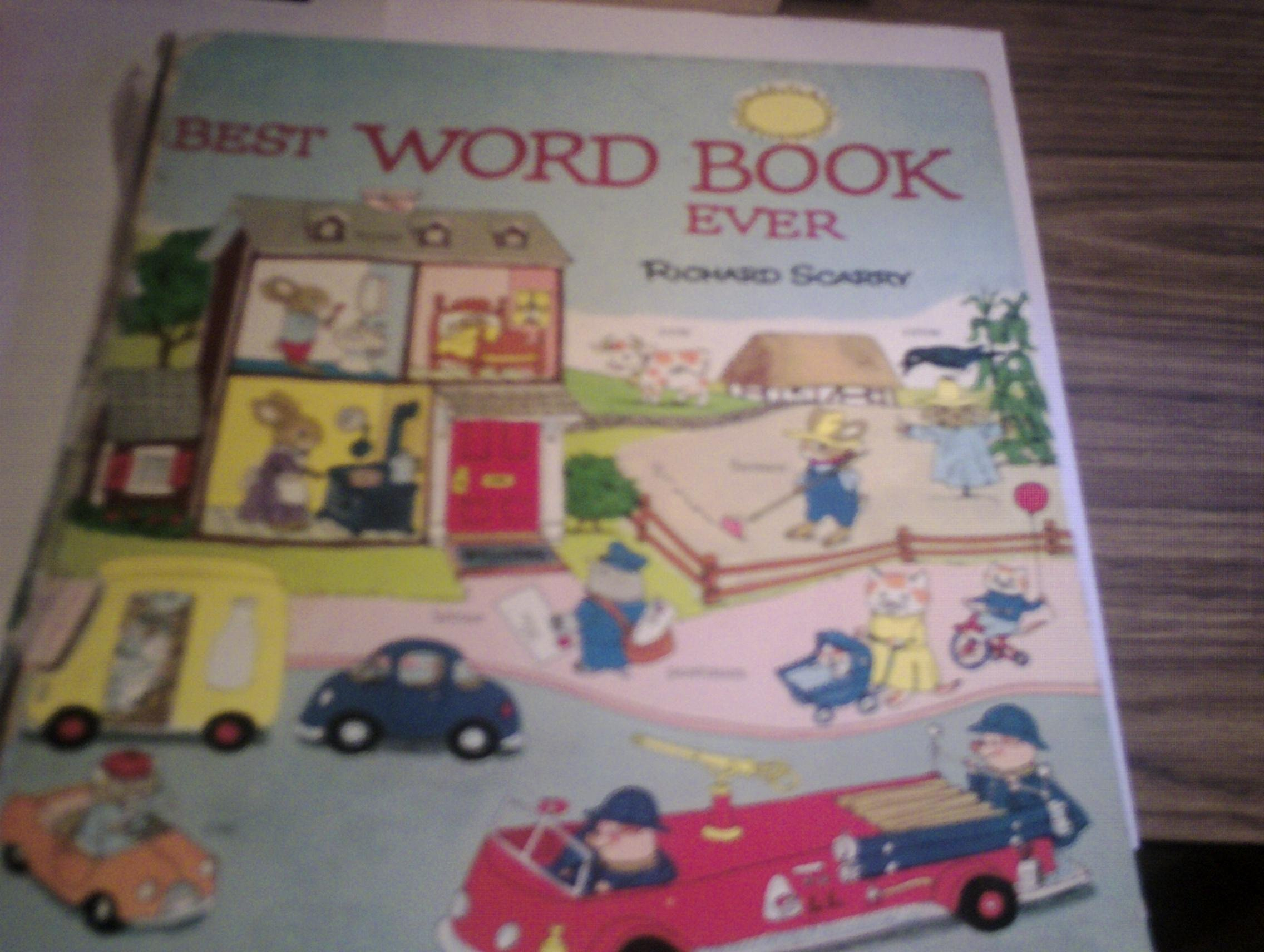 Richard Scarrys Best Word Book product image