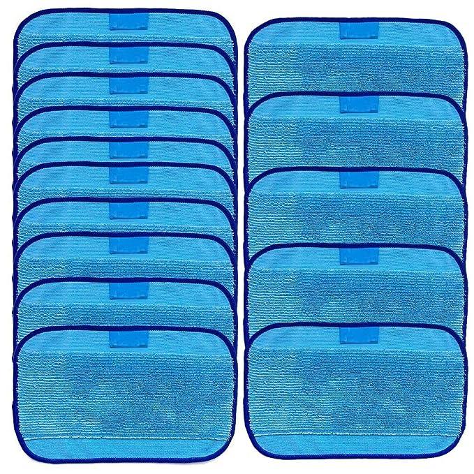 Toallitas húmedas de microfibra FiYenn, 15 toallitas húmedas para iRobot Braava 380 380t 320 Minze 4200 4205: Amazon.es: Bricolaje y herramientas