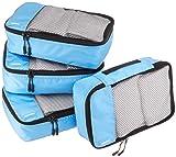 AmazonBasics 4 Piece Small Packing Travel Organizer