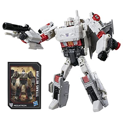 Transformers Generations Titans Return Megatron and Doomshot: Toys & Games