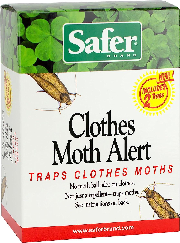 B0017M5V9A Safer Brand 07270 Clothes Moth Alert Trap 81lM3pzkJoL