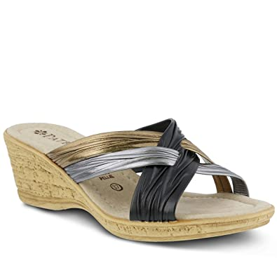 da18c7857 Patrizia Women s Apple Slide Sandal Black