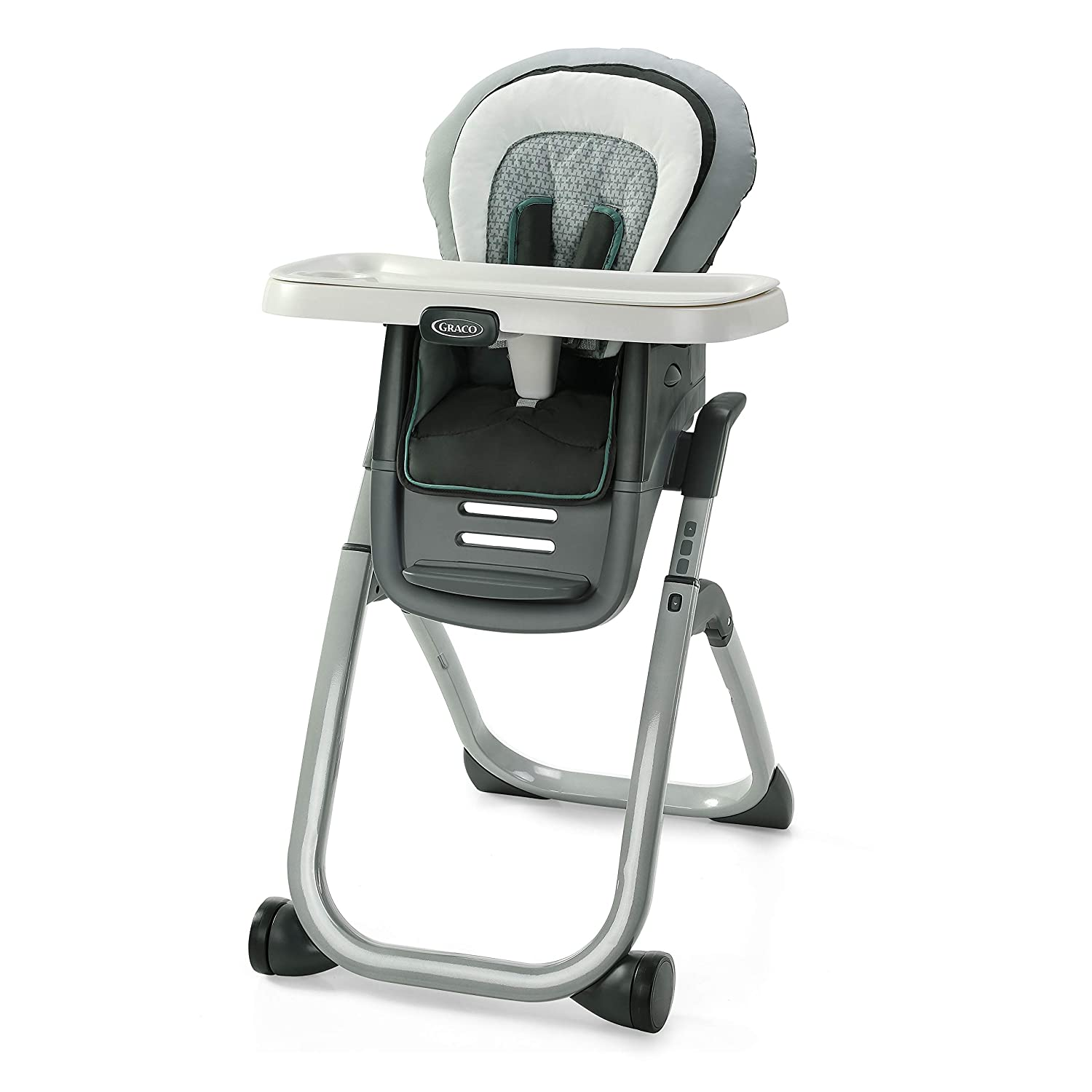 Graco DuoDiner DLX 6 in 1 High Chair | Converts to Dining Booster Seat, Youth Stool, and More, Mathis