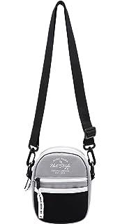 71d44ae717008 iR547s Small Square Crossbody Travel Pouch Shoulder Bag, Black ...