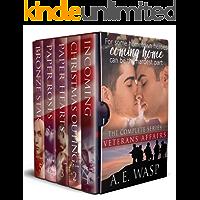 The Complete Veterans Affairs Romances: Gay Military Romances (English Edition)