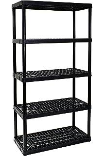 Gracious Living 5 Shelf Heavy Duty Shelf Unit