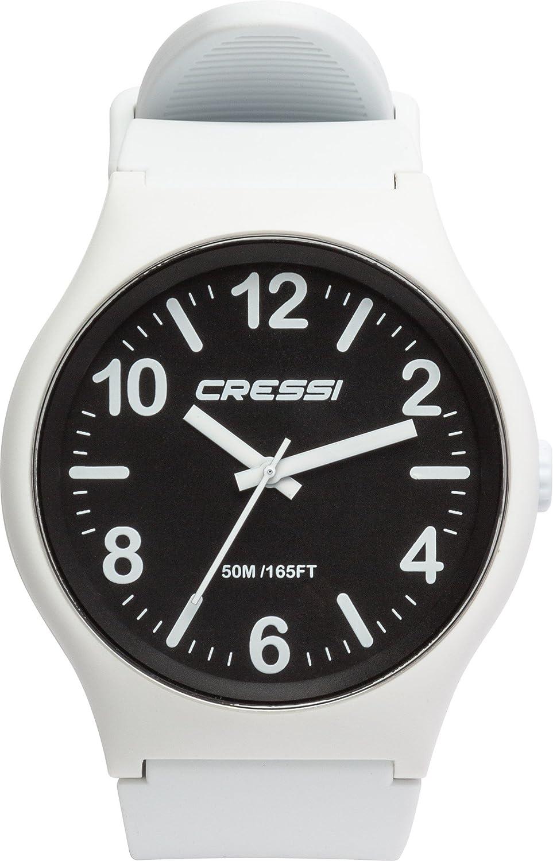 TALLA Uni. Cressi Watch Echo Reloj Analógico de Cuarzo, Unisex Adulto