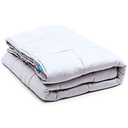 Amazoncom Luna Weighted Blanket 20 Lbs 60x80 100 Organic