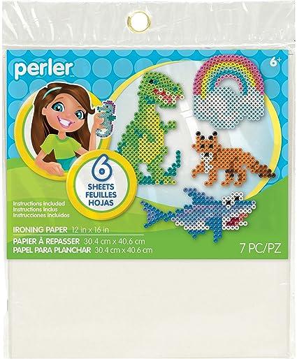 Amazon Perler Beads 22731 Fun Fusion Ironing Paper 6pkg Arts