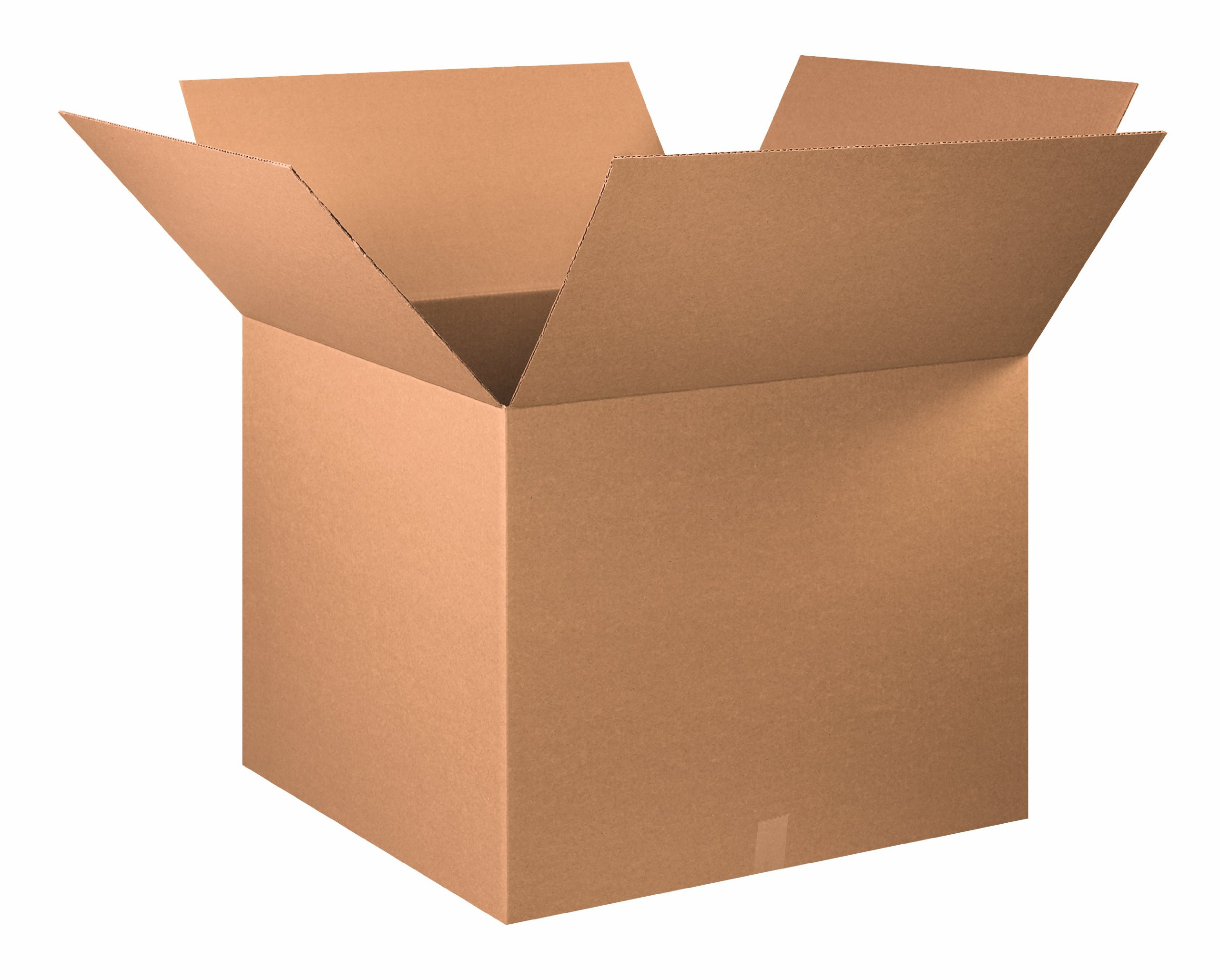 Aviditi 303025 Corrugated Box, 30'' Length x 30'' Width x 25'' Height, Kraft (Bundle of 5)