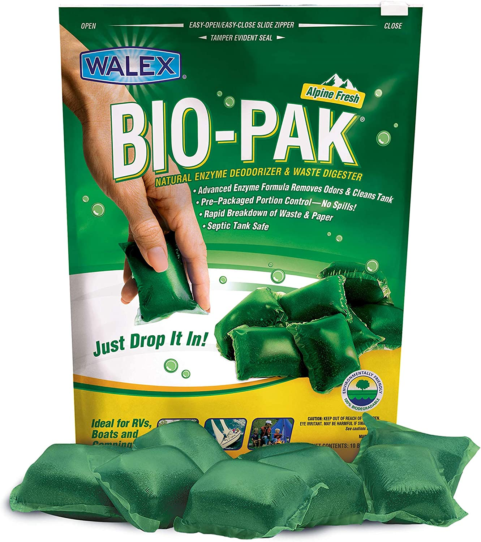 Walex TOI-11530 Bio-Pak Holding Tank Deodorizer