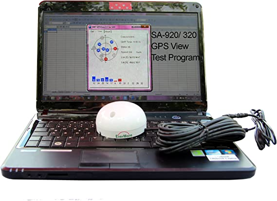 SA-320 USB Marine GPS Receiver with Evermore Chip. Evermore GPS Satelitte Receiver for Marine, Boat - Connect it to PC; Laptop, Desktop, Notebook to ...