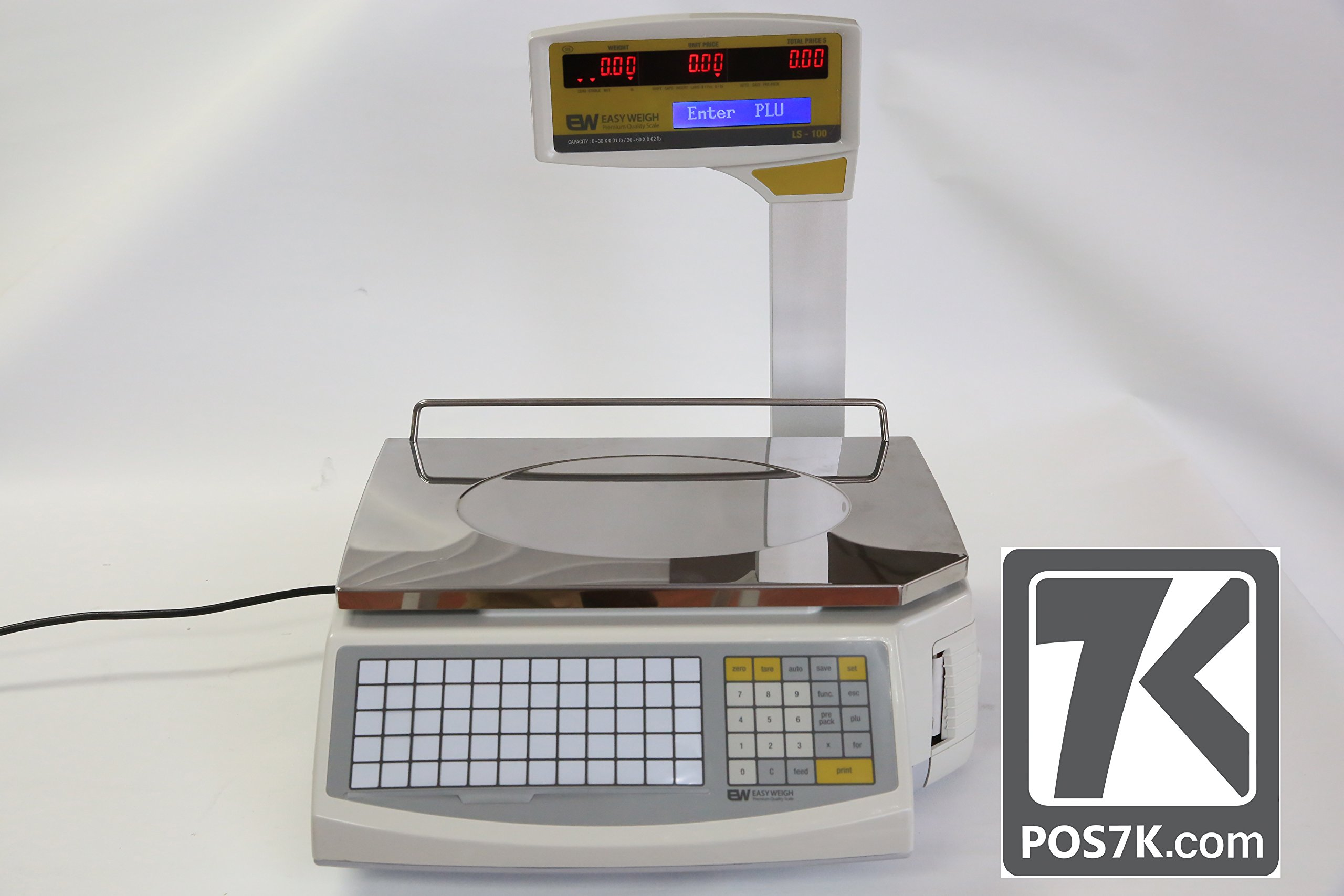 New Easy Weigh LS-100N Fast Reliable Price Computing Printing Scale by Easy Weigh