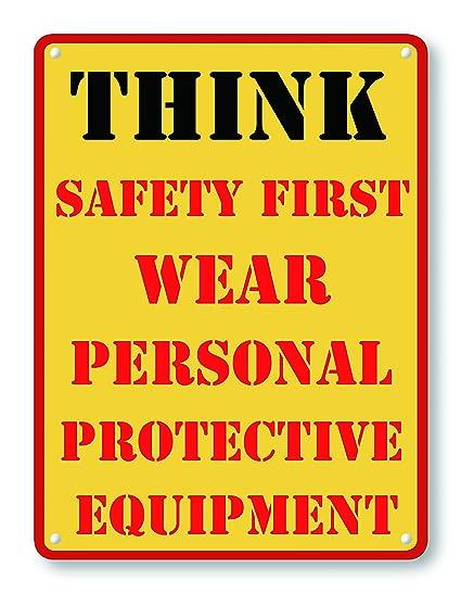 Amazoncom Wendana Vintage Warning Safety Signs Aluminum Metal