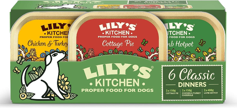 Lily's Kitchen Multipack de Comida Húmeda Cena Clásica para Perro (6 x 150g)