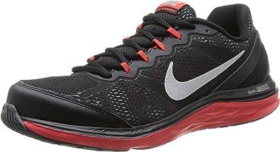 Apéndice ejemplo Armonioso  Nike Dual Fusion Run 3 - Zapatillas de Running para Hombre Negro, Talla  44.5: Amazon.es: Zapatos y complementos