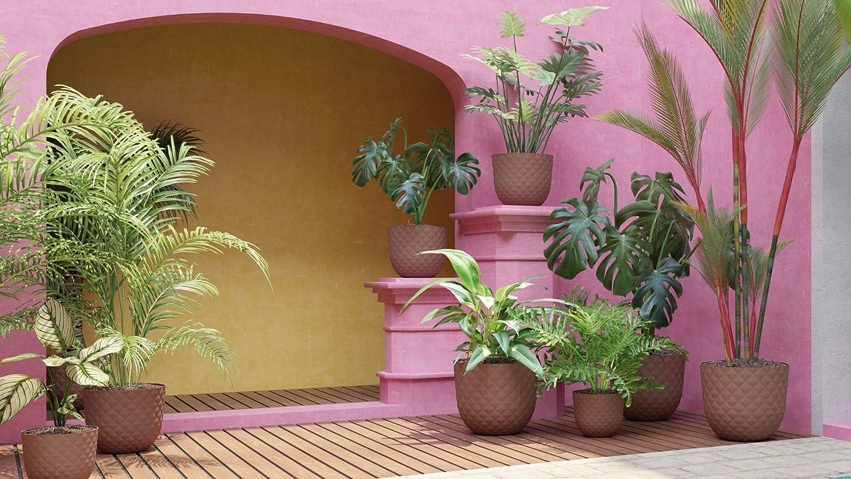Artevasi Havana Tropical Pot 20 cm Granite