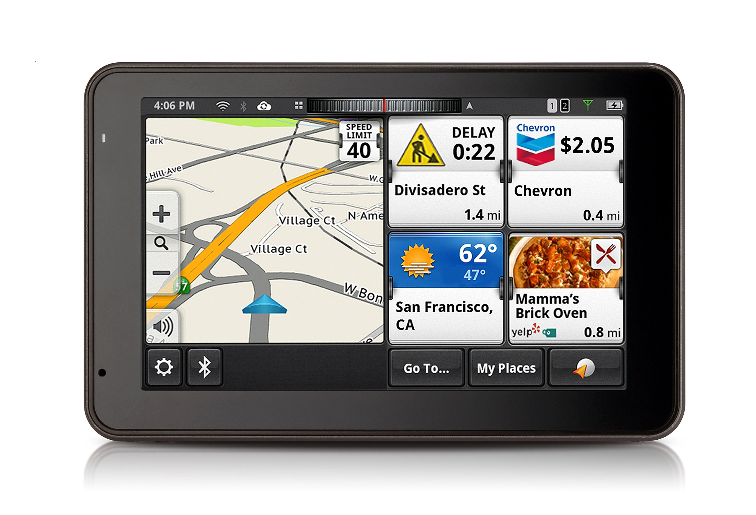 Magellan SmartGPS 5390 - Connected 5'' Navigation System with Social Media & Smartphone integration