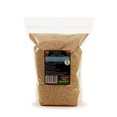 Red Clover Legume Seed by Eretz - Willamette Valley, Oregon Grown (5lbs) : Garden & Outdoor