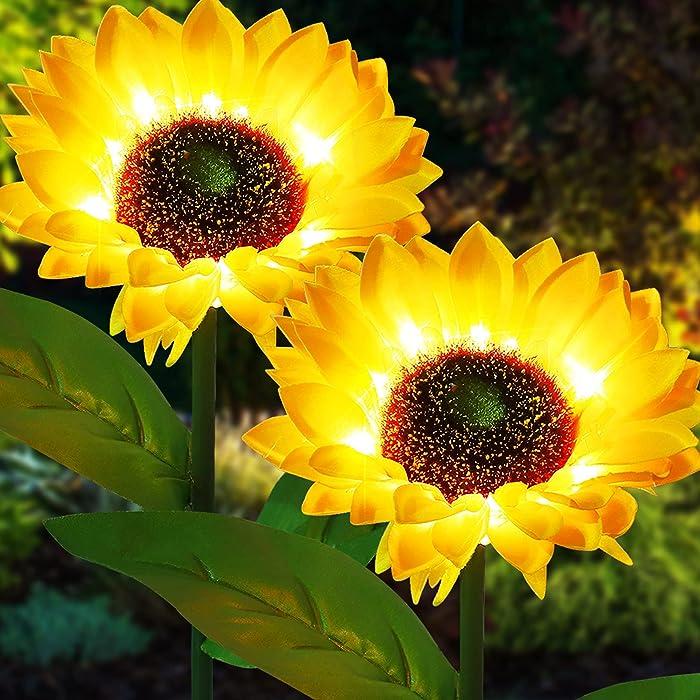 Updated 2021 – Top 10 Yellow Solar Garden Lights