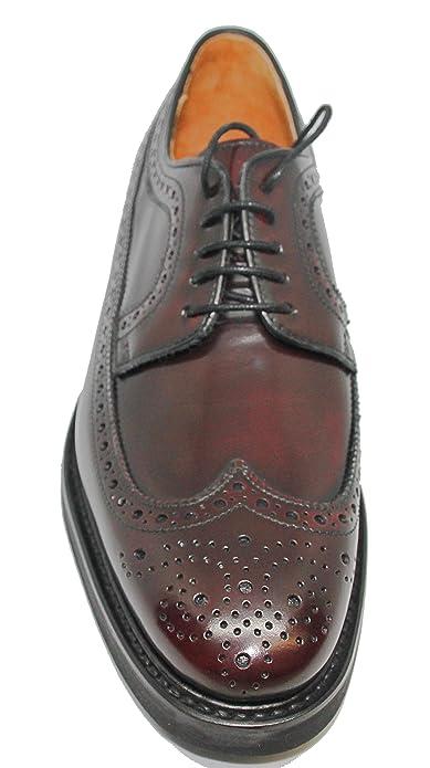 Zapatos Burdeos Berwick Piel Cordones Para De Color Hombre RxfqrURwX