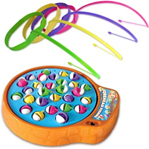 Forehead Fishing Game for Kids Age 3-12 - Easy Setup and Addictive Family Fun