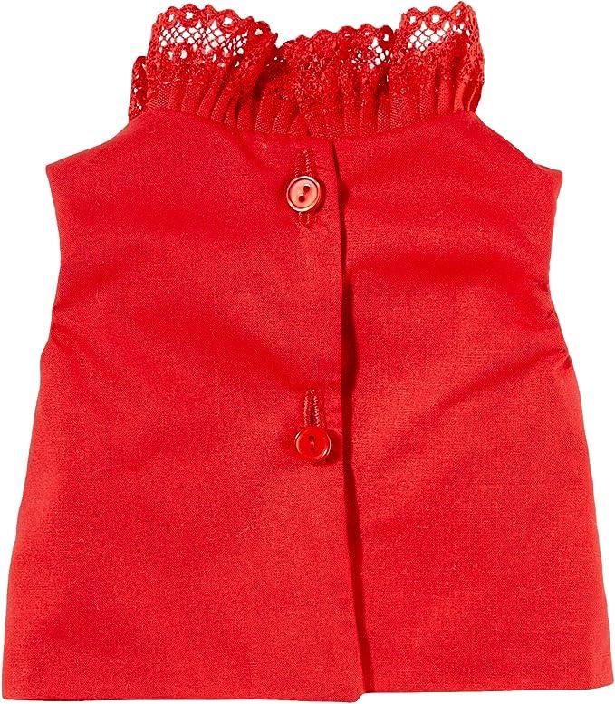 Amazon.es: Mariquita Pérez- Camisa roja sin Mangas Complementos, Color Rojo (Comercial de Juguetes Maripe SL 1): Juguetes y juegos