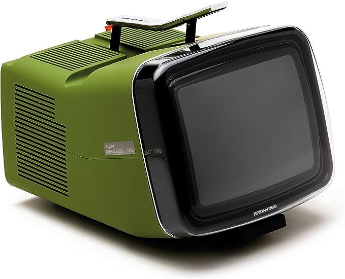 BRIONVEGA Algol Limited Edition CRT 10 Military Green: Amazon.es: Electrónica