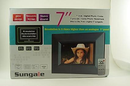 Sungale PF-701 7-Inch Digital Photo Frame: Amazon.com.mx: Electrónicos