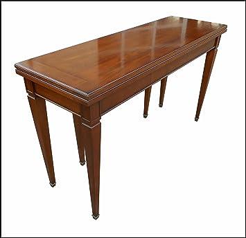 Tavolo Consolle Apribile A Libro.Tavolo A Consolle In Stile Classico Antico Apribile Allungabile
