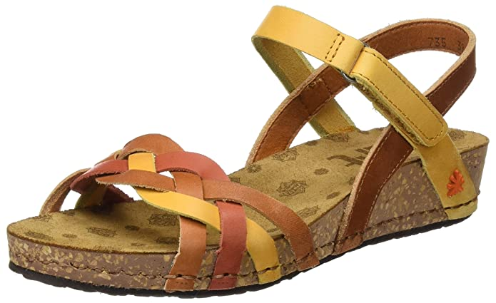 Art Women's 0735 0735 Mojave Pompei Sandals with Platform, (Multi Albufera)