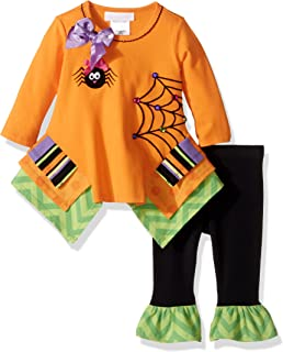 2a842bd6a67 Amazon.com: Bonnie Jean White Sweet Mummy Legging Set: Clothing