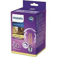 Philips 929001229001 Led Kısılabilir Filament Glob E27, 8W (60 Watt)