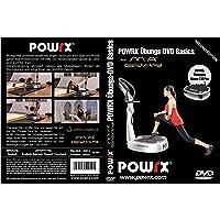 "Vibrationstrainings Übungs-DVD ""Basics"" - Vibrationsplatte - Vibration Plate - POWRX mit Mia Gray"