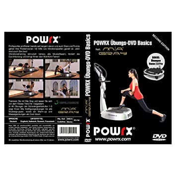 POWRX vibrationstrainings Übung-DVD