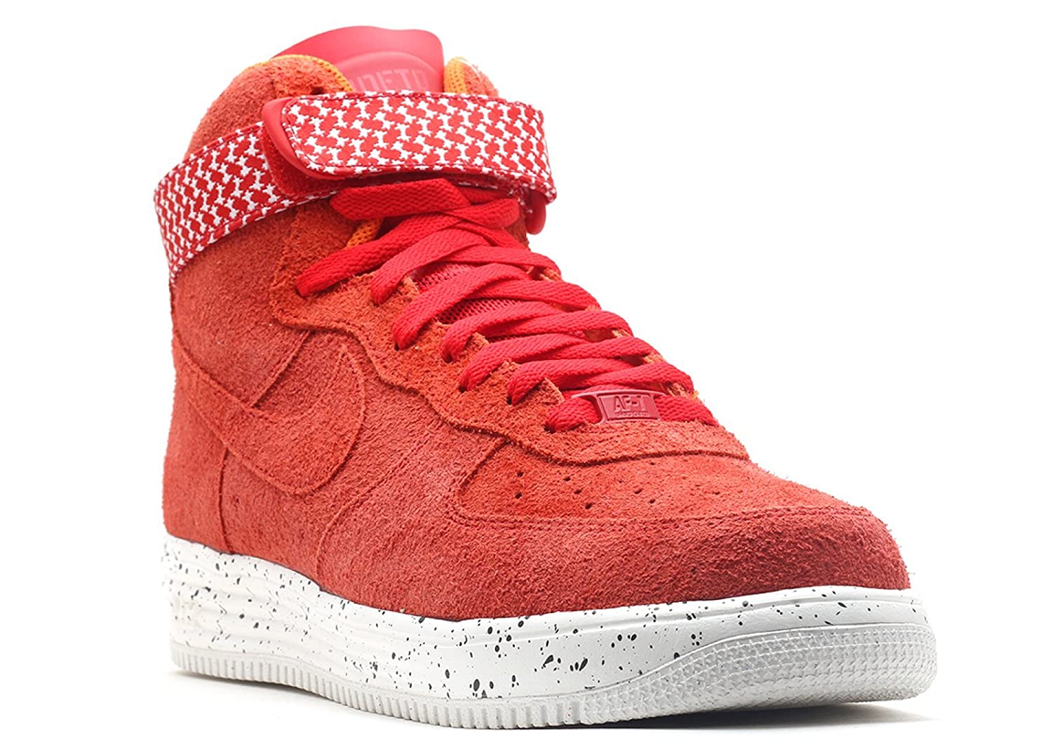 on sale d0b7f a5905 Nike Men s Lunar Force 1 HI Undftd SP, University RED University RED, 12 M  US  Buy Online at Low Prices in India - Amazon.in