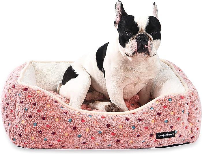 The Best Amazonbasics Cuddler Pet Bed  Large