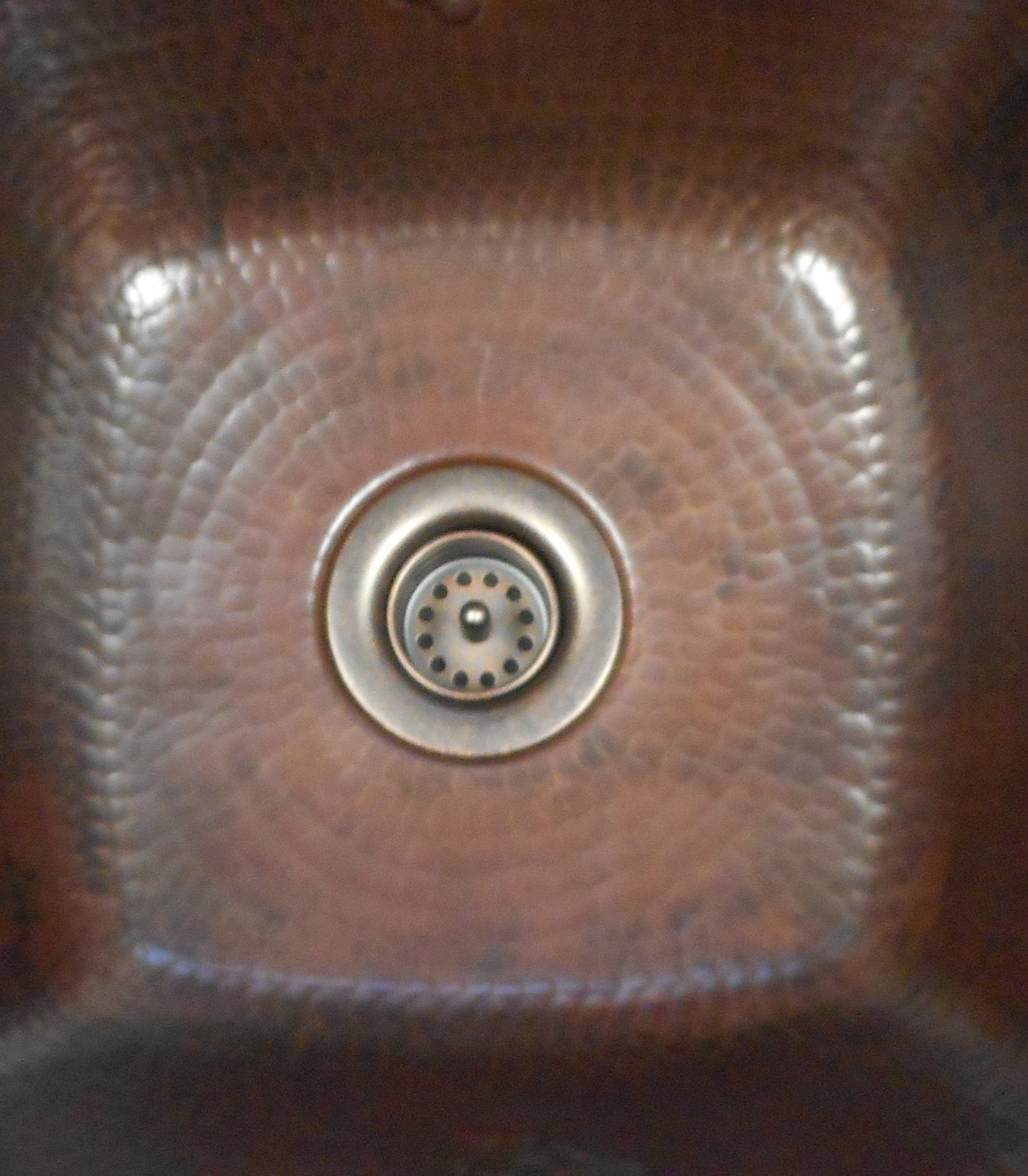 2'' Basket Strainer Drain for Copper Bar Sink
