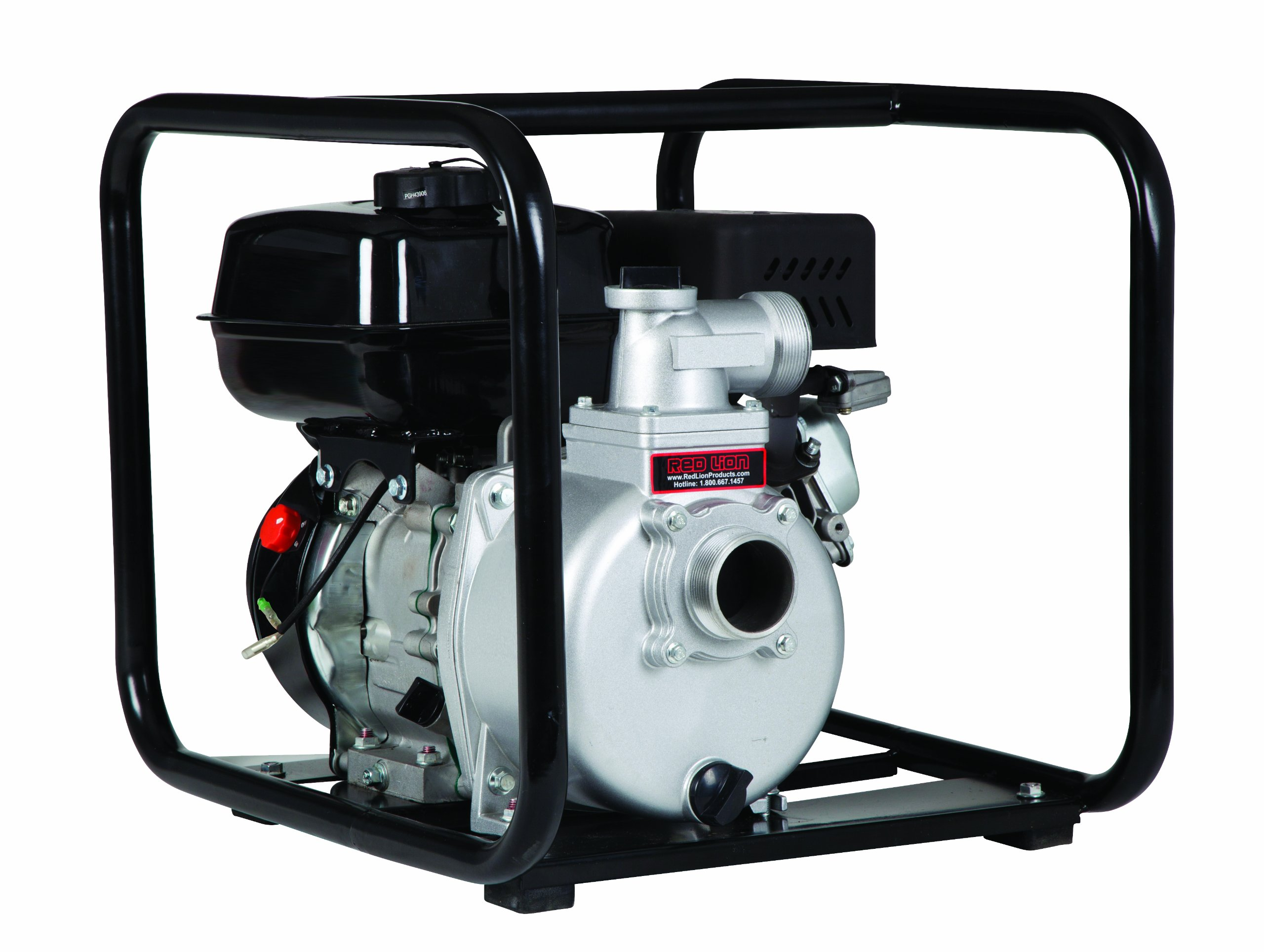 Red Lion Red Lion 6RLAG-2LST 6-HP OHV Engine Driven Aluminum Semi-Trash Pump 2-inch NPT