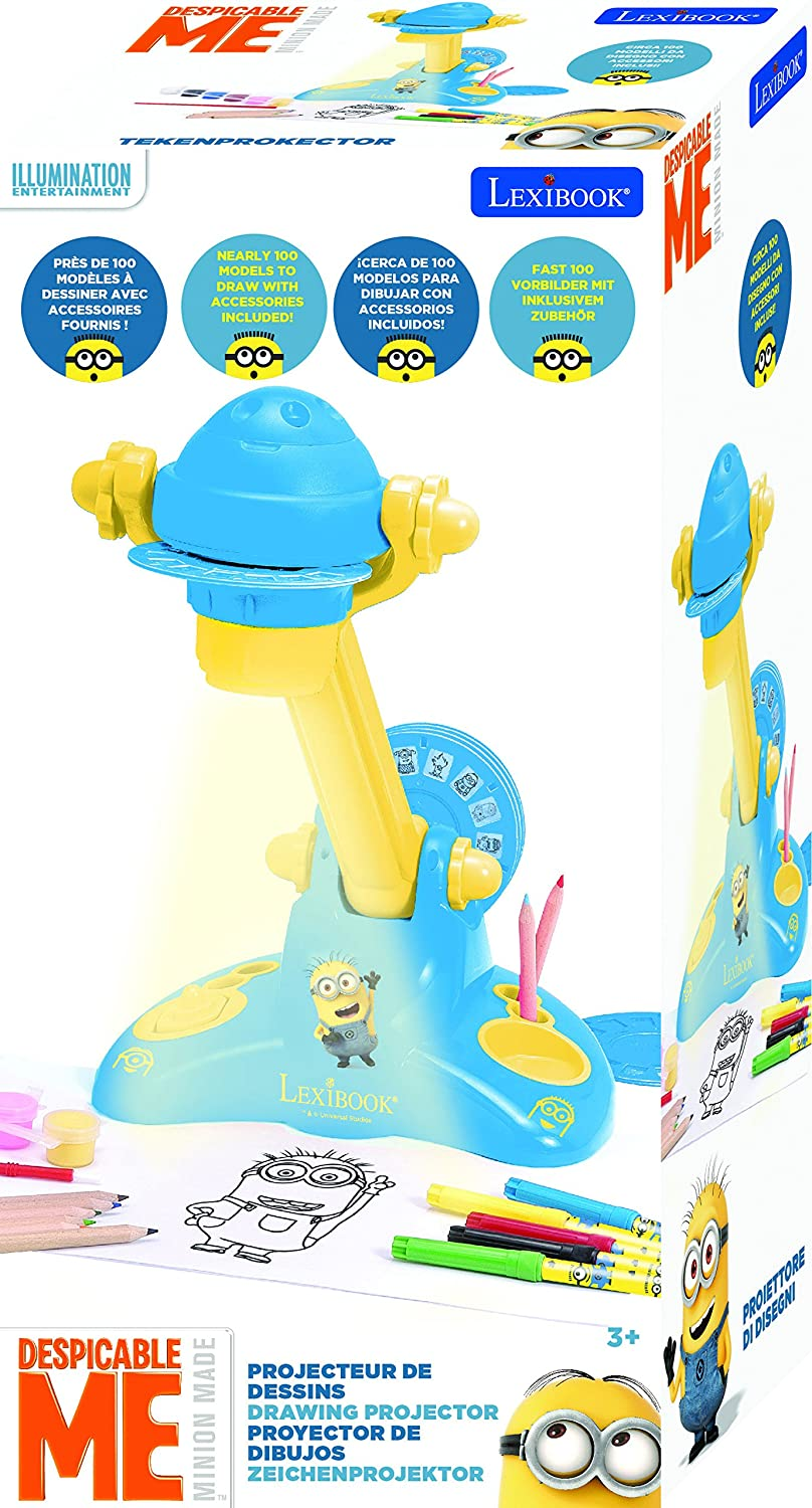 Amazon.com: LEXiBOOK Minions Drawing Projector: Toys & Games