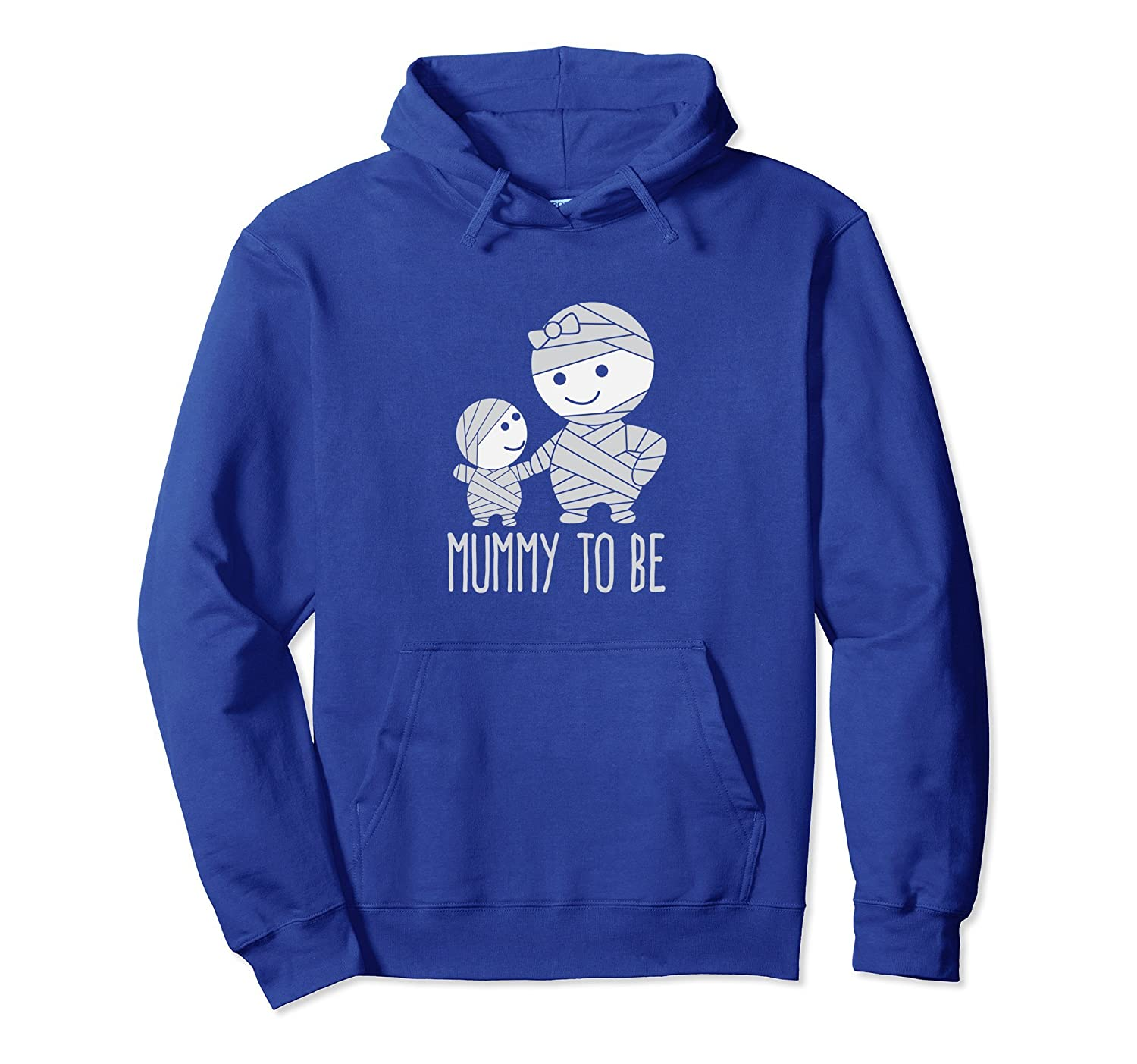 Mummy To Be Cute Mom Halloween Hoodie-mt